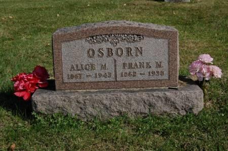 OSBORN, ALICE M. - Webster County, Iowa | ALICE M. OSBORN