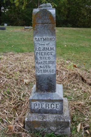 PIERCE, RAYMOND - Webster County, Iowa | RAYMOND PIERCE