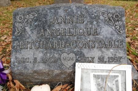 PRITCHARD-CONSTABLE, ANNIE ANGELIQUE - Webster County, Iowa   ANNIE ANGELIQUE PRITCHARD-CONSTABLE