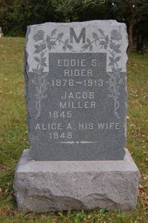 MILLER, ALICE A. - Webster County, Iowa | ALICE A. MILLER