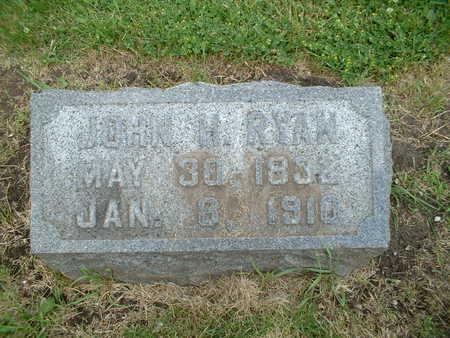 RYAN, JOHN H. - Webster County, Iowa | JOHN H. RYAN