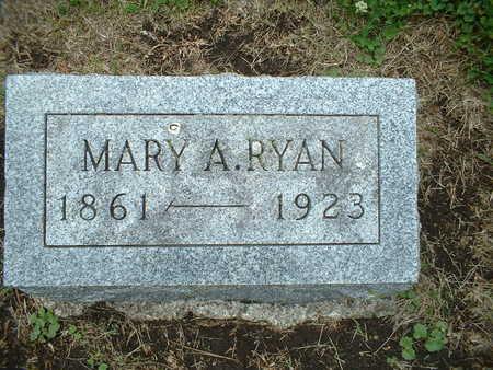 RYAN, MARY A. - Webster County, Iowa   MARY A. RYAN