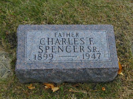 SPENCER, CHARLES F., SR. - Webster County, Iowa | CHARLES F., SR. SPENCER