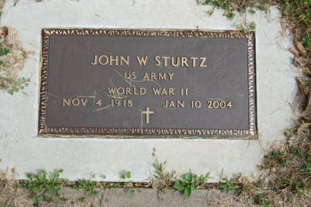 STURTZ, JOHN W. - Webster County, Iowa | JOHN W. STURTZ