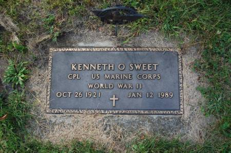 SWEET, KENNETH O. - Webster County, Iowa   KENNETH O. SWEET