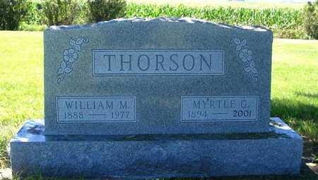 THORSON, WILLIAM M. - Webster County, Iowa | WILLIAM M. THORSON