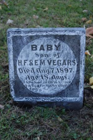 VEGORS, INFANT BOY - Webster County, Iowa   INFANT BOY VEGORS