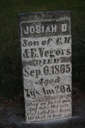 VEGORS, JOSIAH D. - Webster County, Iowa | JOSIAH D. VEGORS