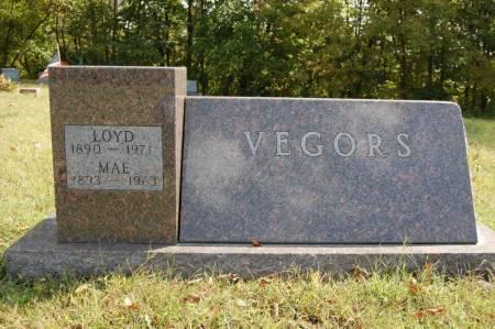 VEGORS, MAE - Webster County, Iowa | MAE VEGORS