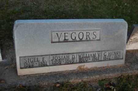 VEGORS, SIGEL F. - Webster County, Iowa | SIGEL F. VEGORS