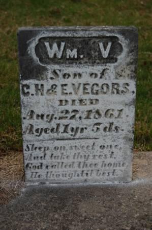 VEGORS, WILLIAM V. - Webster County, Iowa | WILLIAM V. VEGORS