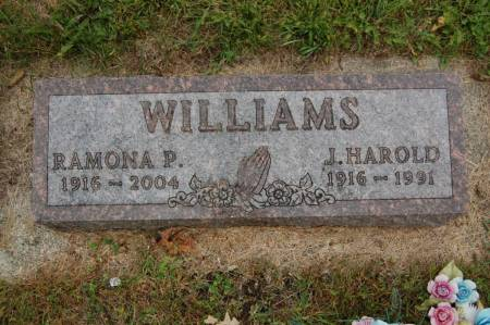WILLIAMS, RAMONA P. - Webster County, Iowa | RAMONA P. WILLIAMS