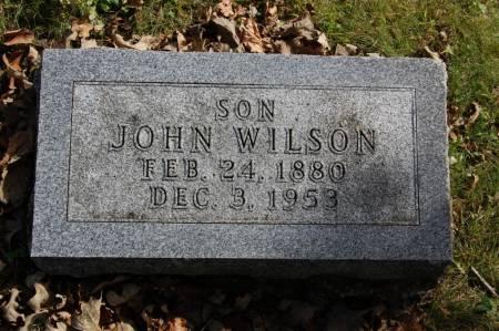 WILSON, JOHN - Webster County, Iowa | JOHN WILSON