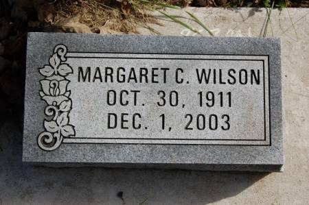 WILSON, MARGARET C. - Webster County, Iowa | MARGARET C. WILSON