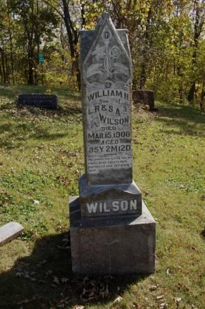 WILSON, WILLIAM H. - Webster County, Iowa | WILLIAM H. WILSON