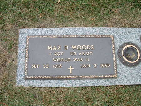 WOODS, MAX - Webster County, Iowa | MAX WOODS