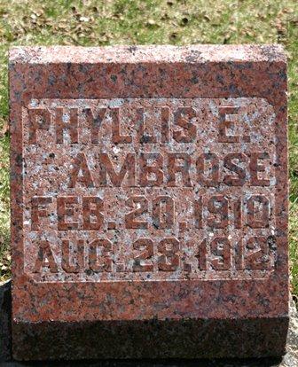 AMBROSE, PHYLLIS E. - Winnebago County, Iowa | PHYLLIS E. AMBROSE