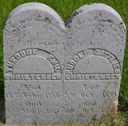 CHRISTENSEN, RUDOLF GOTTLIEB - Winnebago County, Iowa | RUDOLF GOTTLIEB CHRISTENSEN