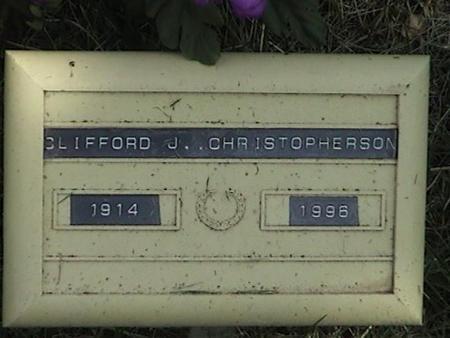 CHRISTOPHERSON, CLIFFORD J - Winnebago County, Iowa | CLIFFORD J CHRISTOPHERSON