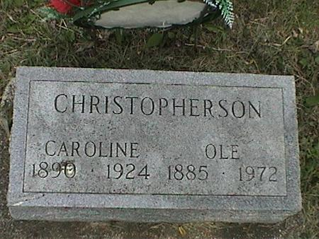 CHRISTOPHERSON, OLE - Winnebago County, Iowa | OLE CHRISTOPHERSON