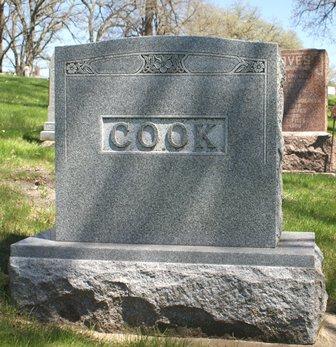 COOK, FAMILY MONUMENT - Winnebago County, Iowa   FAMILY MONUMENT COOK