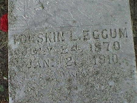 EGGUM, TORSKIN LARS - Winnebago County, Iowa | TORSKIN LARS EGGUM
