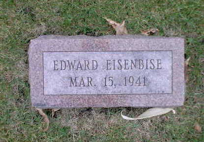 EISENBISE, EDWARD - Winnebago County, Iowa | EDWARD EISENBISE