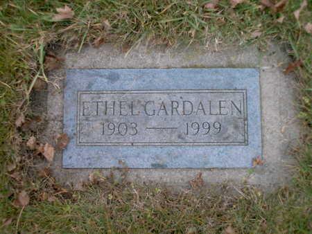GARDALEN, ETHEL - Winnebago County, Iowa | ETHEL GARDALEN