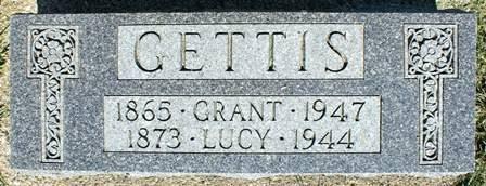 GETTIS, LUCY - Winnebago County, Iowa | LUCY GETTIS