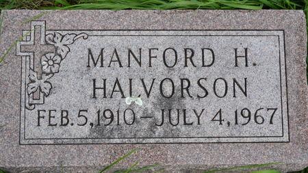 HALVERSON, MANFORD H - Winnebago County, Iowa | MANFORD H HALVERSON