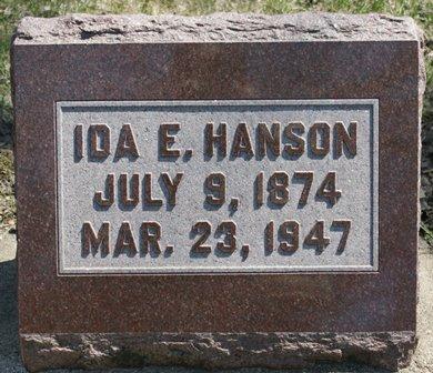 HANSON, IDA E. - Winnebago County, Iowa | IDA E. HANSON