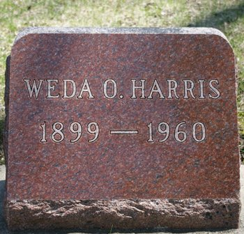 HARRIS, WADA O. - Winnebago County, Iowa | WADA O. HARRIS