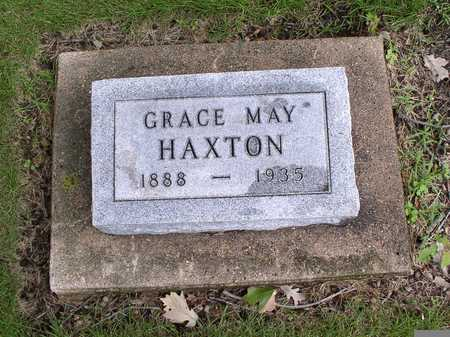 POTTER HAXTON, GRACE MAY - Winnebago County, Iowa | GRACE MAY POTTER HAXTON