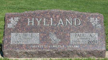 HYLLAND, RUTH E. - Winnebago County, Iowa | RUTH E. HYLLAND