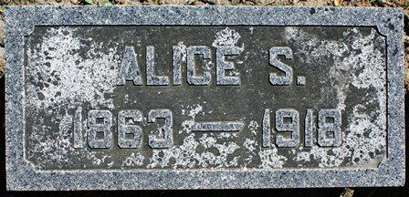 PIERCE IRISH, ALICE S. - Winnebago County, Iowa | ALICE S. PIERCE IRISH