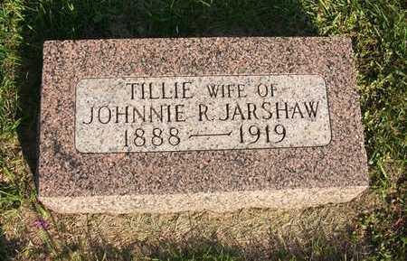 JARSHAW, TILLIE - Winnebago County, Iowa   TILLIE JARSHAW