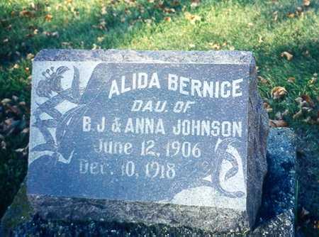 JOHNSON, ALIDA B. - Winnebago County, Iowa   ALIDA B. JOHNSON