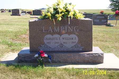 LAMPING, WILLIAM F. - Winnebago County, Iowa | WILLIAM F. LAMPING