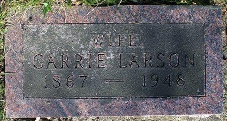 KNUDSON LARSON, CARRIE - Winnebago County, Iowa   CARRIE KNUDSON LARSON
