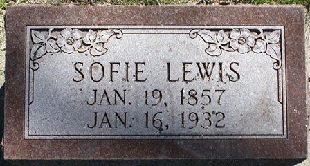 LEWIS, SOPHIE - Winnebago County, Iowa   SOPHIE LEWIS