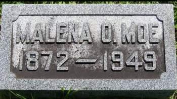 MOE, MALENA O. - Winnebago County, Iowa | MALENA O. MOE