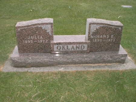 OKLAND, HANS - Winnebago County, Iowa | HANS OKLAND