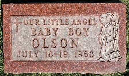 OLSON, BABY BOY - Winnebago County, Iowa | BABY BOY OLSON