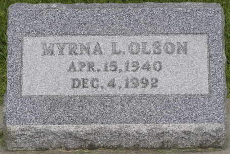 POOLE OLSON, MYRNA LUELLA - Winnebago County, Iowa | MYRNA LUELLA POOLE OLSON