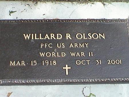 OLSON, WILLARD
