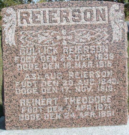 REIERSON, GULLICK - Winnebago County, Iowa | GULLICK REIERSON