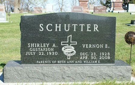 SCHUTTER, VERNON E. - Winnebago County, Iowa | VERNON E. SCHUTTER