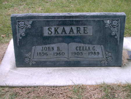 SKAARE, JOHN HAROLD - Winnebago County, Iowa | JOHN HAROLD SKAARE