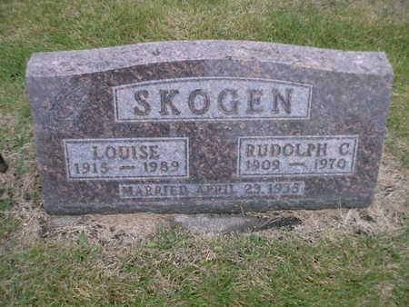 SKOGEN, LOUISE - Winnebago County, Iowa | LOUISE SKOGEN