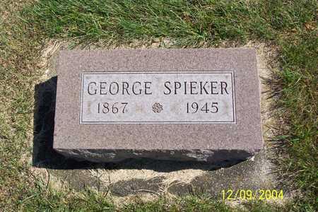 SPIEKER, GEORGE - Winnebago County, Iowa   GEORGE SPIEKER